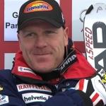 Didier Cuche gewinnt Abfahrt in Garmisch Partenkirchen.