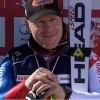 Didier Cuche gewinnt am Freitag Super G von Crans Montana.