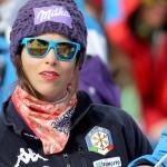 Nach Sturz im Training – Elena Curtoni muss zehn Tage pausieren.