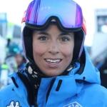 Elena Curtoni freut sich über schmerzfreies Training in Argentinien