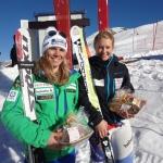 Andrea Ellenberger gewinnt 2. FIS Riesenslalom in Davos – Jasmine Flury mit Kreuzbandanriss