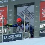 Giovanni Borsotti mit Quali-Bestzeit beim Parallel-Riesenslalom von Chamonix