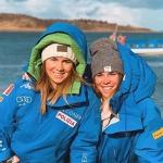 Nadia und Nicol Delago sorgen für Power im azurblauen Damenteam