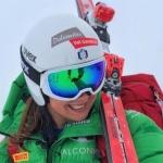 Nadia Delago feiert auf der Karl-Schranz-Piste ihr Weltcupdebüt