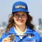 Junioren- Weltmeisterin Lara Della Mea will in die Slalom-Weltspitze