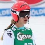 Jessica Depauli gerüstet für Slalom in Aspen