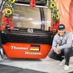 Hahnenkamm News: Eine Gondel trägt den Namen von Thomas Dreßen