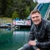 Thomas Dreßen zu Besuch im Outdoor-Freizeitpark AREA 47