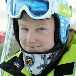 Ana Drev und Corinne Suter gewinnen Europacup Riesenslalom Rennen in Valtournanche