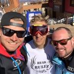 Andreas Sander führt DSV-Dreifachsieg beim Super-G von La Parva an