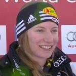 Lena Dürr Achte bei Schild-Sieg in Courchevel (FRA)