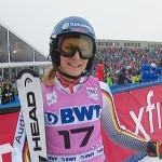 Lena Dürr kürt sich zur Deutschen Meisterin im Slalom 2019