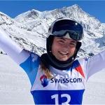 Delia Durrer schnappt sich bei den Schweizer Meisterschaften auch die Super-G-Goldmedaille