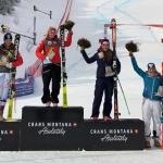 Ariane Rädler gewinnt erste Europacup-Abfahrt in Crans-Montana