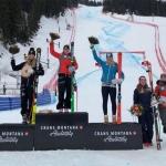 Ariane Rädler führt ÖSV-Dreifachsieg bei Europacup-Abfahrt in Crans-Montana an
