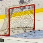 ÖSV Abfahrtsteam zeigt sich beim Eishockeytraining treffsicher