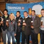 DSV vertraut auf ERDINGER Alkoholfrei als Sportgetränke-Partner