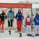 Alexander Schmid aus Fischen gewinnt Europacup Riesenslalom am Oberjoch