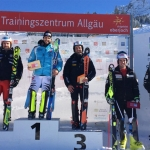 Dominik Stehle gewinnt Europacup-Slalom am Oberjoch