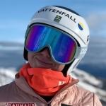 Elsa Fermbäck gewinnt Europacup-Slalom in Vaujany