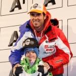 Thomas Fanara führt nach dem 1. Durchgang beim Riesenslalom Weltcupauftakt in Sölden