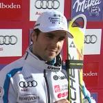 Franzose Fanara führt nach dem 1. Lauf beim Riesenslalom in Adelboden