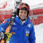 Elena Fanchini steht wieder auf den Skiern