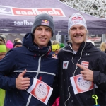 "Manuel Feller beim ""Wings for Life World Run"" in Saalbach"