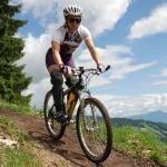 Mountainbiketrail sorgt bei ÖSV Alpindamen für Adrenalinkick