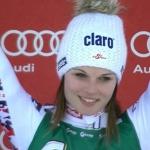 Anna Fenninger Dritte in Bad Kleinkirchheim