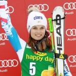 Anna Fenninger, ein wahrer Champion in Video-Aktion