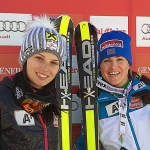 Doppelsieg durch Elisabeth Görgl und Anna Fenninger