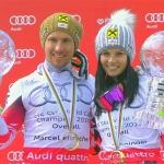 Skieur d'Or AIJS-Serge Lang Trophy 2015 geht an Anna Fenninger und Marcel Hirscher