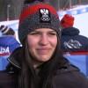 Nadine Fest gewinnt Europacup Super-G und Alpine Kombination in Châtel