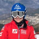 Nadine Fest gewinnt 1. Europacup Super-G in Kvitfjell