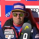 Vorjahressieger Beat Feuz dominiert 1. Abfahrtstraining in Wengen