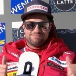 Beat Feuz stürmt zum dritten Mal bei der Lauberhorn-Abfahrt in Wengen auf Platz eins