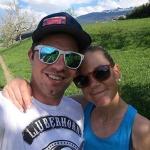 Katrin Triendl und Beat Feuz können sich freuen: Töchterchen Clea ist auf die Welt gekommen