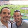 Peter Fill und Dominik Paris gönnten sich einen besonderen Fußballabend