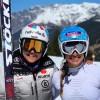 Jasmine Flury und Vicky Rebensburg geben sich in Santa Caterina Valfurva ein Stelldichein