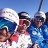 Frankreichs Speed-Asse trainieren in Kanada