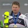 ÖSV NEWS: Max Franz freut sich über seinen zweiten Saisonsieg.