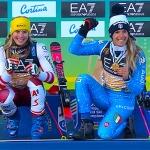 Ski WM 2021: Weltmeisterin Katharina Liensberger holt ex aequo Gold im Parallel-Rennen