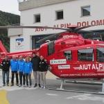 """Marc Gisin bedankt sich bei Aiut Alpin: """"Ihr habt mir das Leben gerettet"""""""