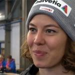 Michelle Gisin blickt optimistisch in die Skiweltcup Saison 2019/20
