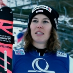 Swiss-Ski News: Michelle Gisin freut sich über erstes Slalom-Podest