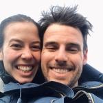 Michelle Gisin und Luca De Aliprandini sind wieder vereint