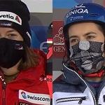 Nach dem ersten Slalomdurchgang von Levi führen Petra Vlhová und Michelle Gisin