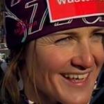 Elisabeth Görgl Schnellste beim Abschlusstraining von Val d'Isere