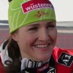 Elisabeth Görgl ist Super G Weltmeisterin 2011